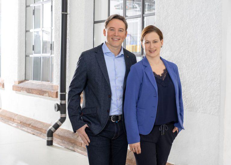Corinna Pfaff und Andreas Buff