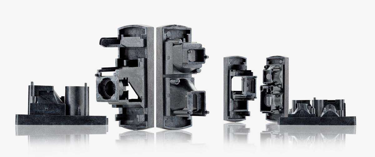 Tuben für Sensor- und Ventilgehäuse aus LCP